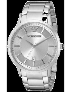 Chic Time | Montre Homme Emporio Armani Classic AR2478 Bracelet Argenté En Acier Inoxydable  | Prix : 269,25€