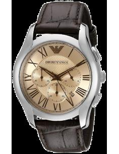 Chic Time | Montre Homme Emporio Armani Classic AR1785 Bracelet croco en cuir brun  | Prix : 179,50€