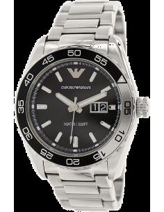 Chic Time | Montre Homme Emporio Armani Sportivo AR6047 Bracelet en acier inoxydable  | Prix : 209,30€