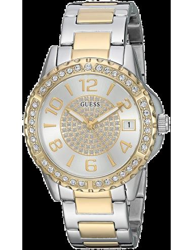 Chic Time | Montre Femme Guess Classic W0779L4 Argent  | Prix : 249,00€