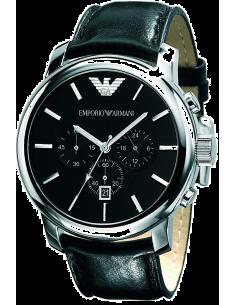 Chic Time | Montre Homme Emporio Armani Classique AR0431 Noir  | Prix : 179,40€