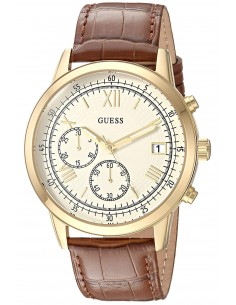 Chic Time | Montre Homme Guess U1000G3 Brun  | Prix : 289,00 €