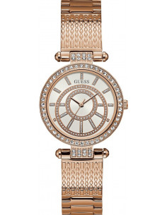 Chic Time | Montre Femme Guess W1008L3 Or Rose  | Prix : 195,00€