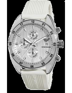 Chic Time | Montre Homme Emporio Armani AR5929 Blanc  | Prix : 246,75€
