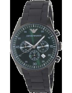 Chic Time | Montre Homme Emporio Armani AR5922 Bracelet acier noir  | Prix : 279,30€