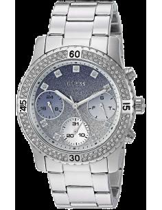 Chic Time | Montre Femme Guess W0774L6 Argent  | Prix : 289,00€