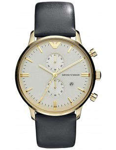 Chic Time | Montre Homme Armani New Retro AR0386 Noir  | Prix : 223,20€