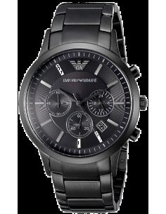 Chic Time | Montre Homme Armani Classic AR2453 cadran rond et bracelet noir  | Prix : 275,40€