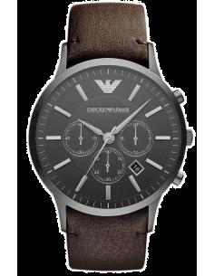 Chic Time | Montre Homme Armani Sportivo AR2462 Cadran et bracelet coloris marron  | Prix : 179,50€