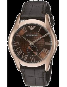 Chic Time | Montre Homme Emporio Armani Classic AR1705 Bracelet et cadran marrons  | Prix : 194,25€