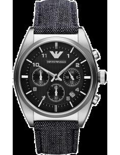 Chic Time | Montre Homme Armani Retro AR1691 Bleu  | Prix : 279,20€