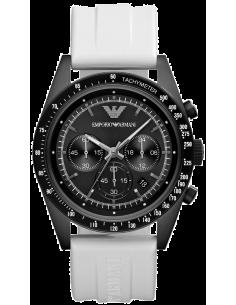 Chic Time | Montre Homme Armani Sportivo AR6112 Blanc  | Prix : 265,30€