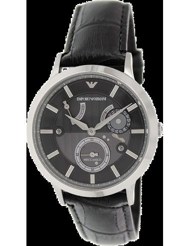 Chic Time   Montre Homme Armani Meccanico AR4664 Noir    Prix : 319,20€