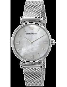 Chic Time | Montre Femme Armani Retro AR1955 Argent  | Prix : 197,40€