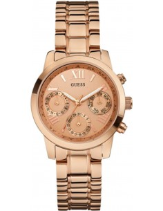 Chic Time | Montre Femme Guess W0448L3 Or Rose  | Prix : 299,98 €