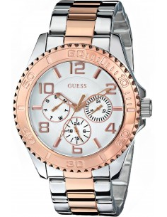 Chic Time | Montre Femme Guess W0231L5 Or Rose  | Prix : 319,98€