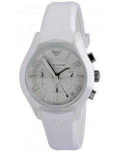 Chic Time | Montre Homme Armani Ceramica AR1431 Blanc  | Prix : 359,10€