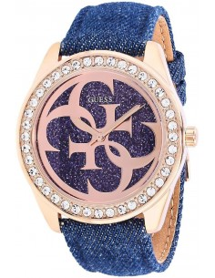 Chic Time | Montre Femme Guess W0627L3 Bleu  | Prix : 299,00€