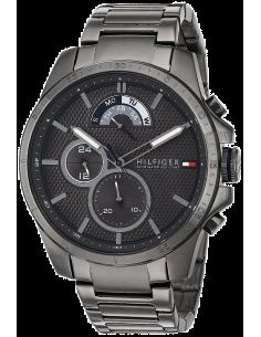 Chic Time   Montre Tommy Hilfiger 1791347 Bracelet acier anthracite    Prix : 119,40€