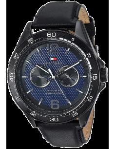 Chic Time | Montre Tommy Hilfiger Sophisticated Sport 1791368 Bracelet cuir noir  | Prix : 189,00€