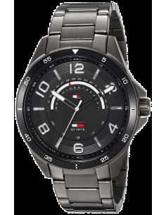 Chic Time | Montre Tommy Hilfiger Sport 1791393 Bracelet acier noir  | Prix : 125,40€