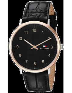 Chic Time | Montre Tommy Hilfiger Sophisticated Sport 1791339 Bracelet cuir noir  | Prix : 107,40€