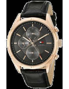 Chic Time | Montre Homme Tommy Hilfiger 1791125 Noir  | Prix : 249,00€