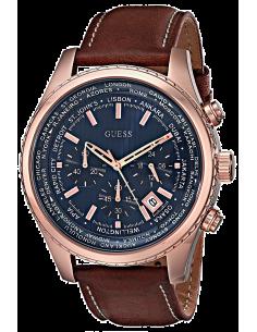 Chic Time | Montre Homme Guess Pursuit W0500G1 Chronographe à cadran bleu  | Prix : 159,20€