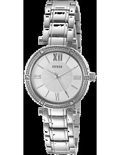 Chic Time | Montre Femme Guess W0767L1 Argent  | Prix : 299,98€