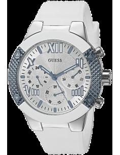 Chic Time | Montre Femme Guess W0772L3 Blanc  | Prix : 149,40€