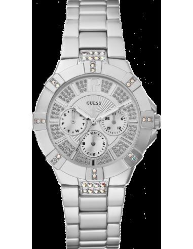 Chic Time | Montre Guess Femme Vista Argent W11624L1  | Prix : 199,20€