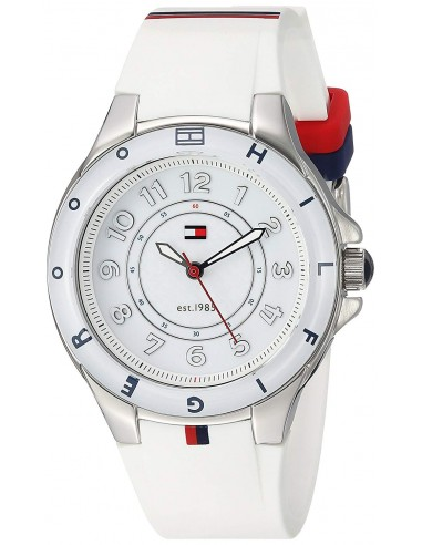 Chic Time   Montre Femme Tommy Hilfiger 1781271 Blanc    Prix : 135,85€