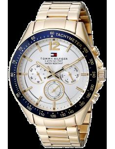 Chic Time | Montre Homme Tommy Hilfiger Sophisticated 1791121 Multifonction dorée  | Prix : 229,90€