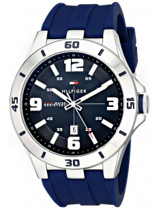 Chic Time | Montre Homme Tommy Hilfiger 1791062 Bracelet Bleu  | Prix : 161,40€