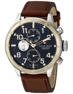 Chic Time | Montre Homme Tommy Hilfiger 1791137 Marron  | Prix : 159,20 €