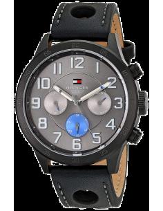 Chic Time | Montre Homme Tommy Hilfiger 1791051 Noir  | Prix : 229,00€