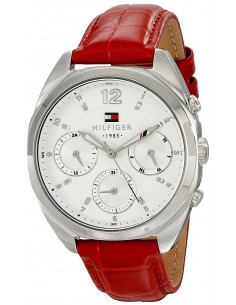 Chic Time | Montre Femme Tommy Hilfiger 1781483 Rouge  | Prix : 209,90€