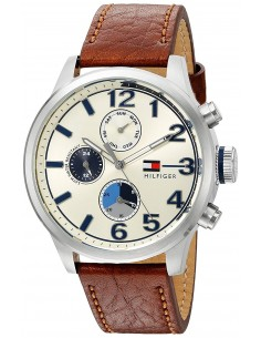 Chic Time   Montre Homme Tommy Hilfiger 1791239 Marron    Prix : 168,35€
