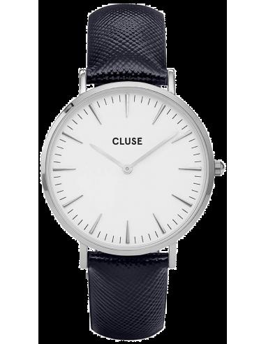 Chic Time | Montre Cluse La Bohème CL18232 Bracelet en cuir noir  | Prix : 57,85€