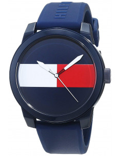 Chic Time   Montre Homme Tommy Hilfiger 1791322 Bleu    Prix : 103,35€