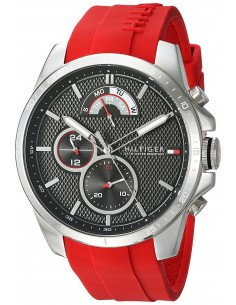 Chic Time | Montre Homme Tommy Hilfiger 1791351 Rouge  | Prix : 167,40€