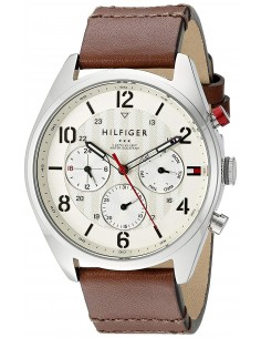 Chic Time | Montre Homme Tommy Hilfiger 1791208 Marron  | Prix : 179,00€