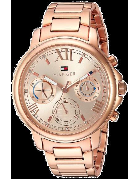 Chic Time   Montre Femme Tommy Hilfiger Claudia 1781743 Acier or rose    Prix : 191,40€