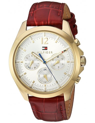 Chic Time | Montre Femme Tommy Hilfiger 1781702 Rouge  | Prix : 229,00€