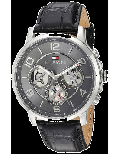Chic Time   Montre Homme Tommy Hilfiger 1791289 Noir    Prix : 189,00€
