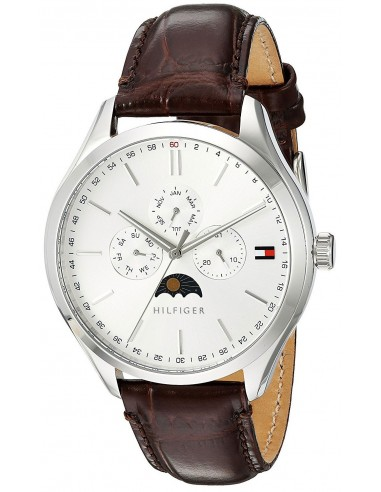 Chic Time | Montre Homme Tommy Hilfiger Oliver 1791304 Marron  | Prix : 249,00 €