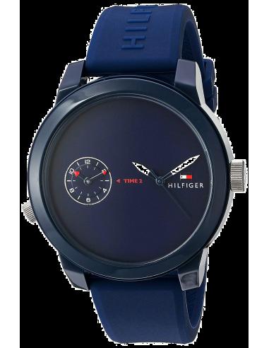 Chic Time | Montre Homme Tommy Hilfiger Denim 1791325 Bleu  | Prix : 109,85€