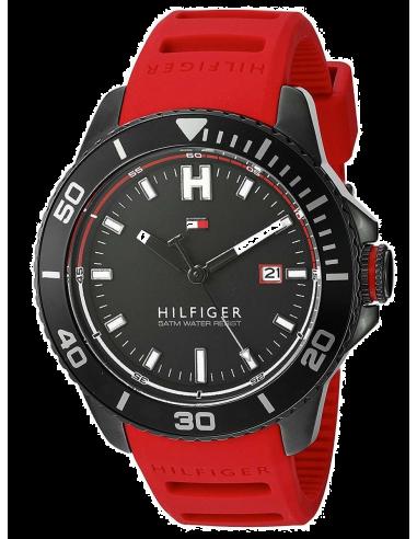 Chic Time | Montre Homme Tommy Hilfiger 1791264 Rouge  | Prix : 149,00€
