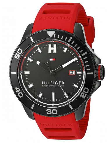 Chic Time   Montre Homme Tommy Hilfiger 1791264 Rouge    Prix : 149,00€