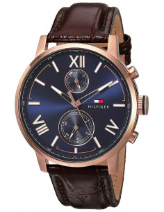 Chic Time | Montre Homme Tommy Hilfiger Alden 1791308 Marron  | Prix : 159,20 €